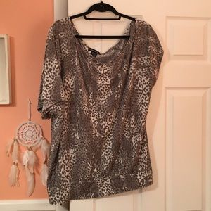 Twist Tees Cheetah Print T-Shirt
